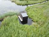 Čornajas pagastā uzstādīts putnu vērotāja slēpnis