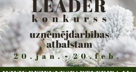 Izsludināts LEADER projektu konkurss uzņēmējdarbības atbalstam