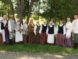 """Ozolaines folkloras kopai """"Zeiļa"""" jauni tērpi"""