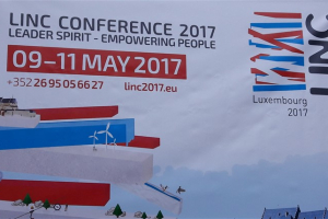 LINC konference Luksemburgā 09.05.2017.-11.05.2017.