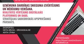 Aicinām piedalīties tiešsaistes seminārā par uzņēmuma darbības uzlabošanu 14.septembrī!